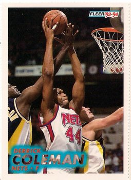 1993-94 Fleer Perforated Promo #133
