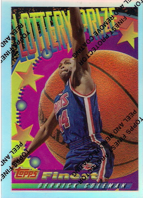 1994-95 Finest Lottery Prize Test Refractor #LP8