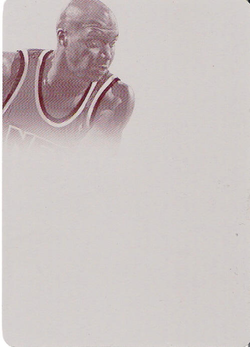 2013-14 Panini National Treasures 2012-13 Flawless Printing Plate Magenta #43 1/1