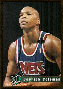 Legends Sports Memorabilia Derrick Coleman